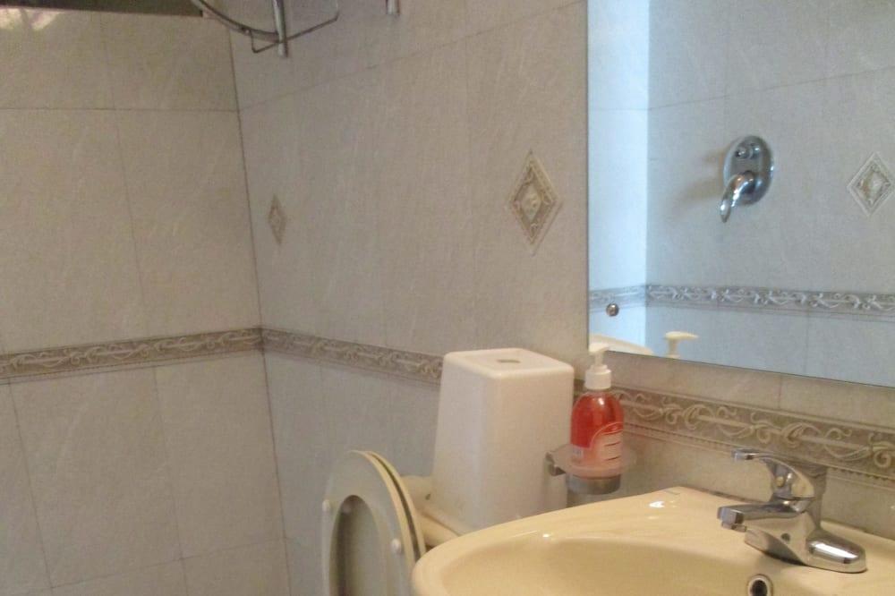 Apartmán typu Deluxe, 3 spálne, nefajčiarska izba, výhľad na oceán - Kúpeľňa