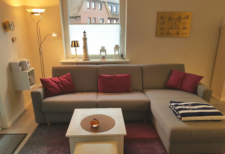 Haus Stedum - App. Lenz, Sylt, Basic Apartment, Beachside, Living Area