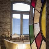 Exclusieve suite, 1 kingsize bed, niet-roken (Suite) - Badkamer