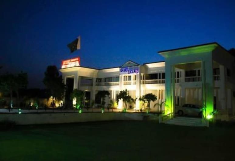 Grand Enclave, Lahore, Hotel Front – Evening/Night
