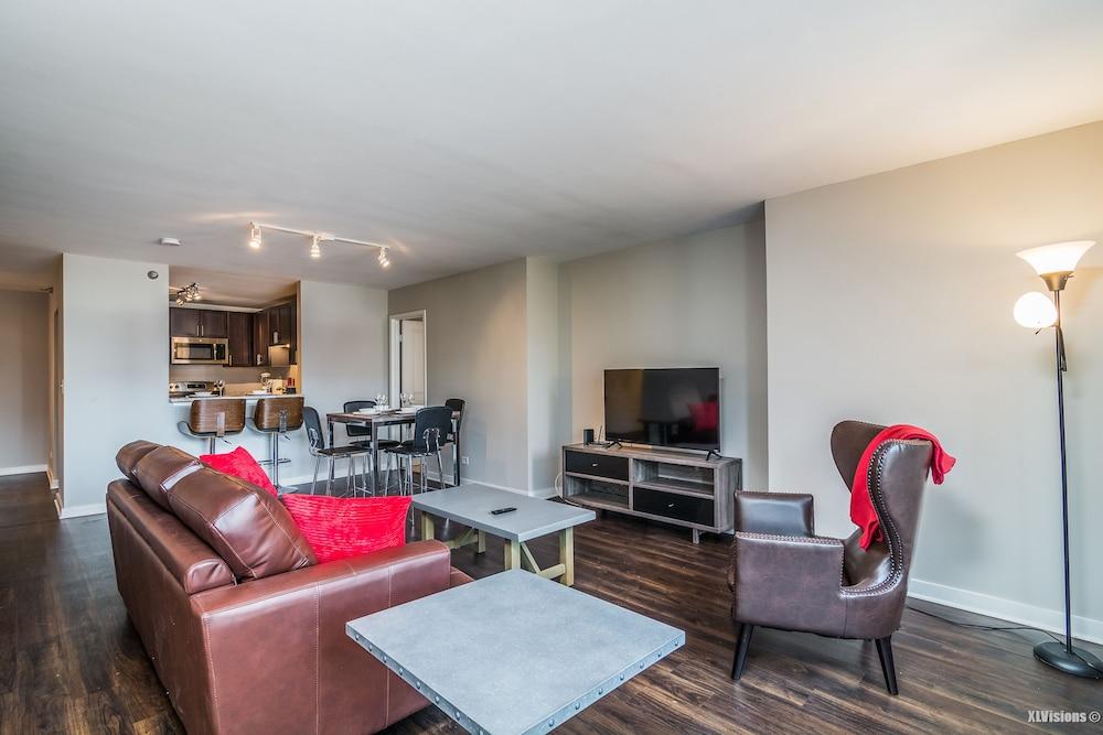 Furnished suites near navy pier en chicago for Hoteles en chicago