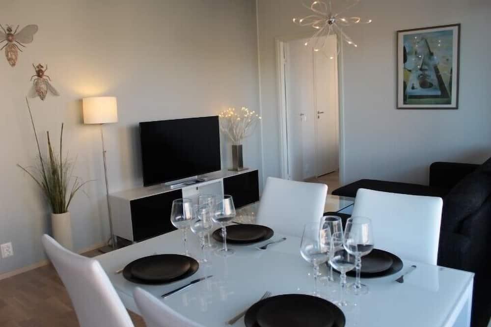 公寓, 1 間臥室, 桑拿 - 客房內用餐