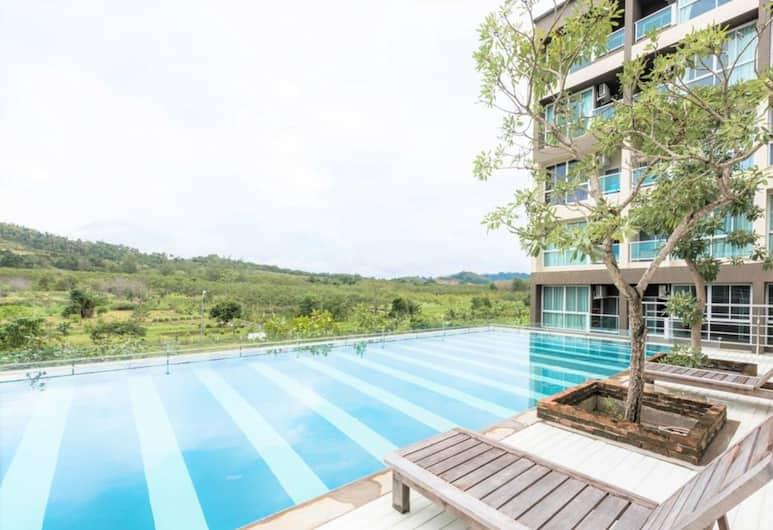 JJ Airport Condotel, Mai Khao, Outdoor Pool