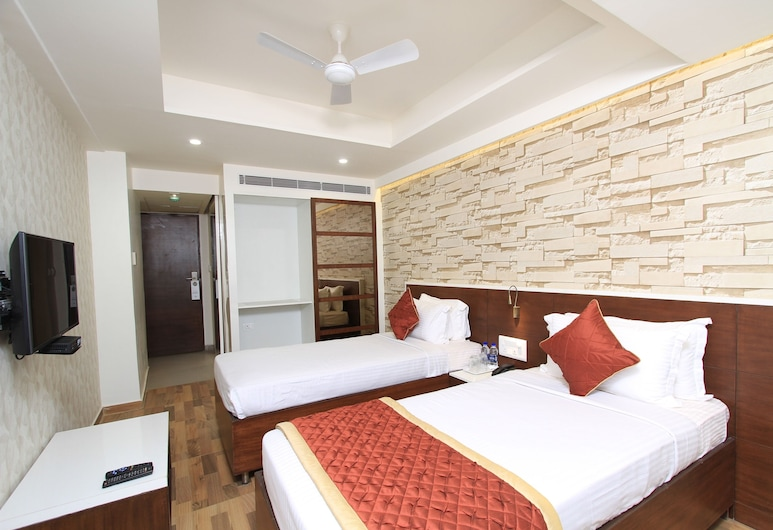 Bhagini Icon Whitefield, Bengaluru, Studio, 1 Queen Bed, Accessible, Guest Room