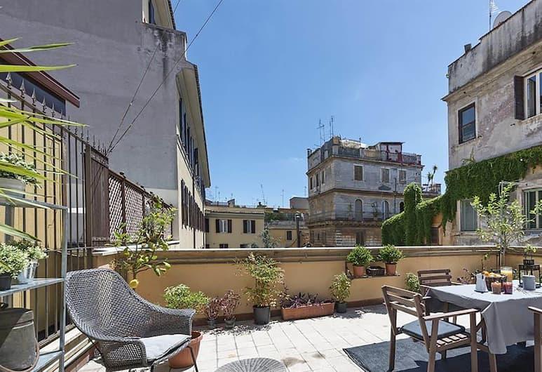 Lappartamento - Vatican Area, Rome, Appartement, 2 slaapkamers (Piazza del Catalone, 6), Terras