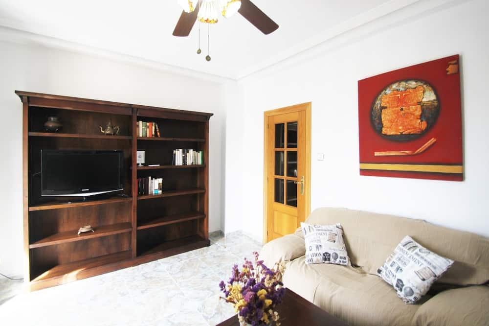아파트, 침실 3개, 발코니 - 거실