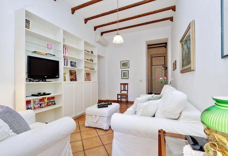 Lappartamento - Piazza Navona Area, Rome, Apartment, 1 Bedroom, Living Area