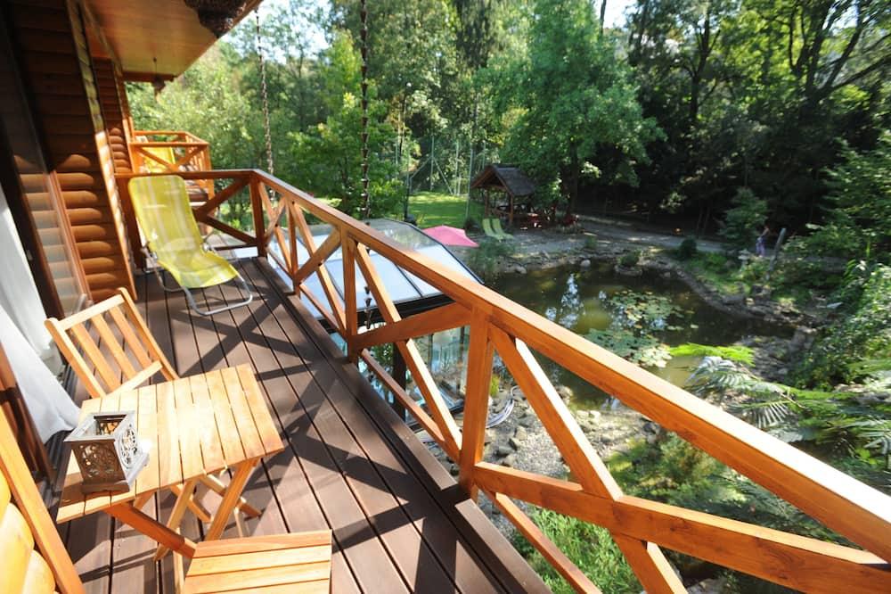 Standard-dobbeltværelse - udsigt til have (Ksiezycowy) - Altan