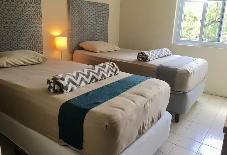 KAENA POINT HOSTEL, Guatemala City, Basic Room, 2 Twin Beds, Shared Bathroom, Guest Room