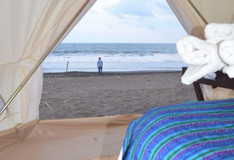 Glamping Monterrico, Buena Vista, Luxus sátor, 1 queen (nagyméretű) franciaágy, Tengerre néző, Kilátás a szobából