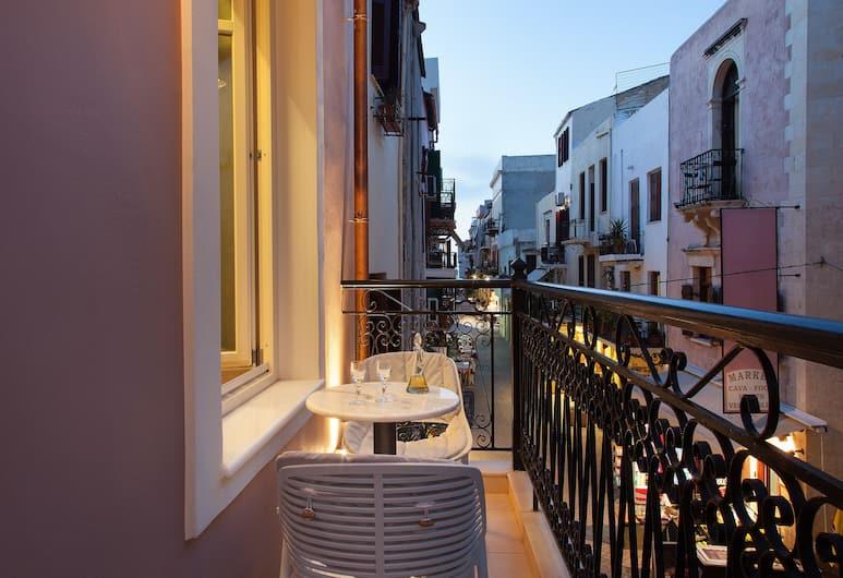 Consolato Boutique, Chania, Deluxe suite, Uitzicht op de stad, Balkon
