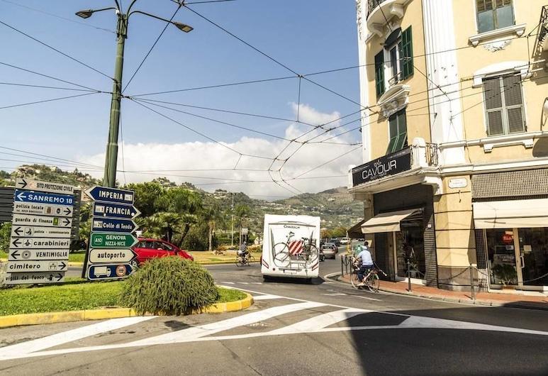 加富爾旅館, 文提米格利亞, 住宿範圍