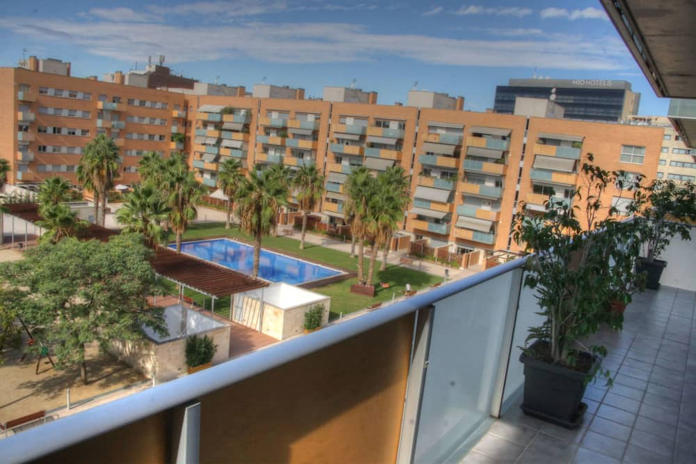 Apartament, 2 sypialnie, balkon - Balkon