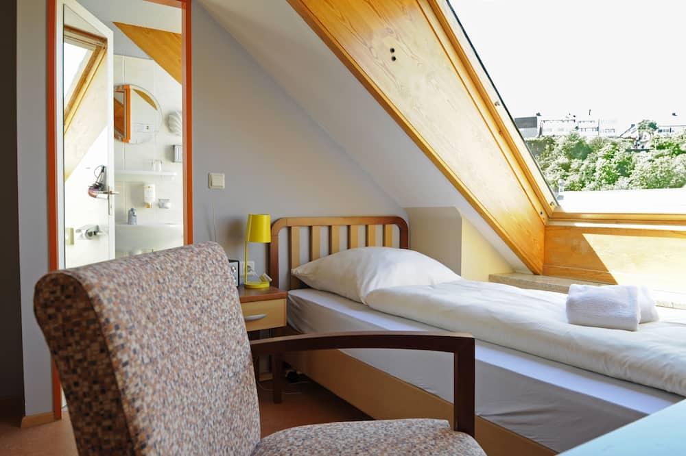 Jednolůžkový pokoj typu Economy - Obývací prostor