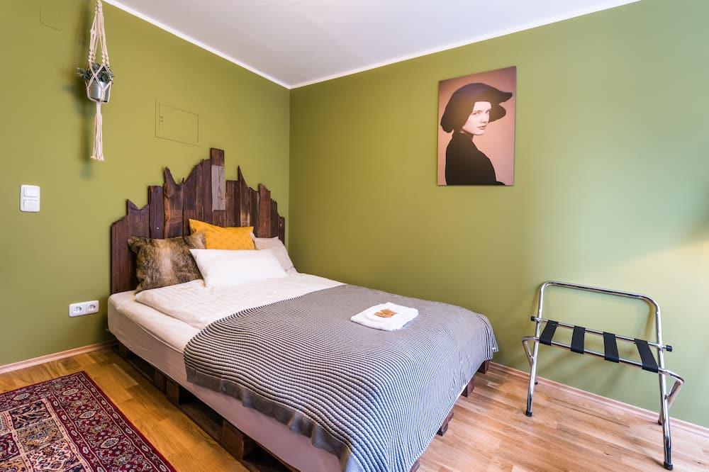 Design-Apartment, 1 Queen-Bett, Kochnische - Wohnbereich