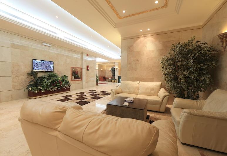 Snood Alazizyh Hotel, Mecka, Sittområde i lobbyn