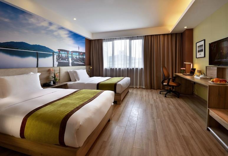 杭州黃龍亞朵酒店, 杭州市, 行政雙床房, 客房