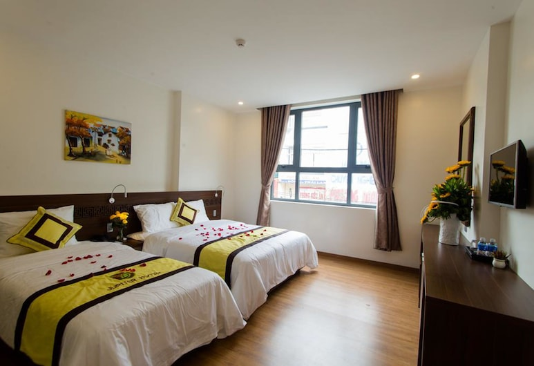 丘比特飯店, 峴港, 豪華三人房, 客房