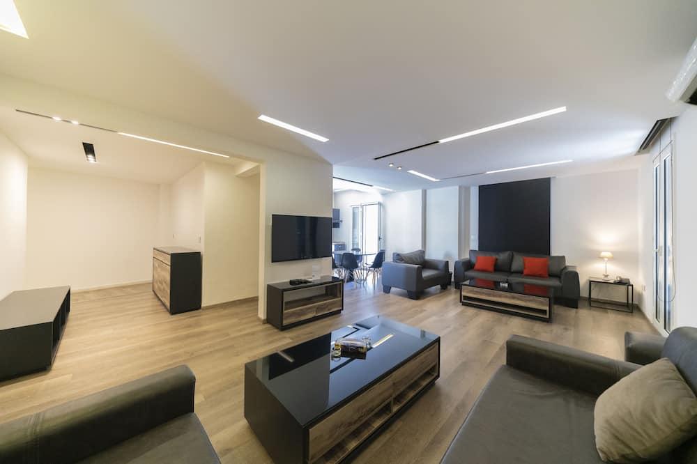 Dupleks, 2 kamar tidur, teras (Suite) - Ruang Keluarga