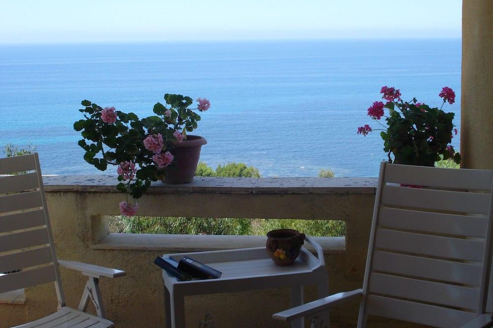 Vila Deluks, 3 kamar tidur, pemandangan laut - Teras/Patio