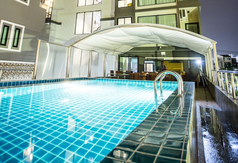 Triple B Boutique Residence, Si Racha, Outdoor Pool