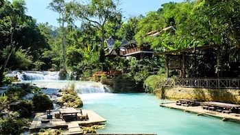 Picture of Vanvisa at the Falls in Luang Prabang
