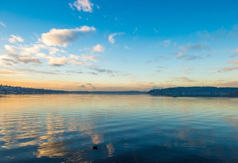 Hyatt Regency Lake Washington at Seattle's Southport, Renton, Suite – executive, utsikt mot innsjø, Gjesterom