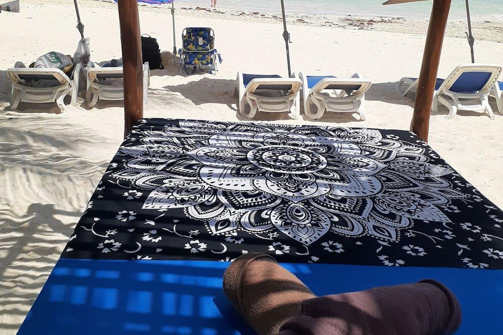 Lều dành cho gia đình, Quang cảnh bãi biển, Sát bãi biển - Phòng