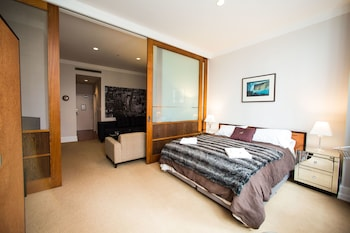 奥克蘭燦爛一房公寓酒店的圖片