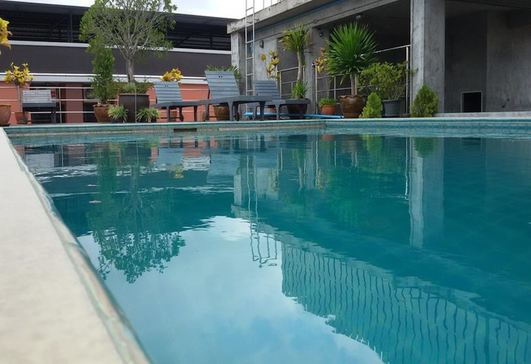 Ananya Residence Service Apartment, Chonburi, Outdoor Pool