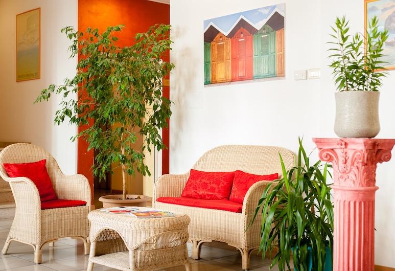 Residence Welcome, Rimini, Sitzecke in der Lobby