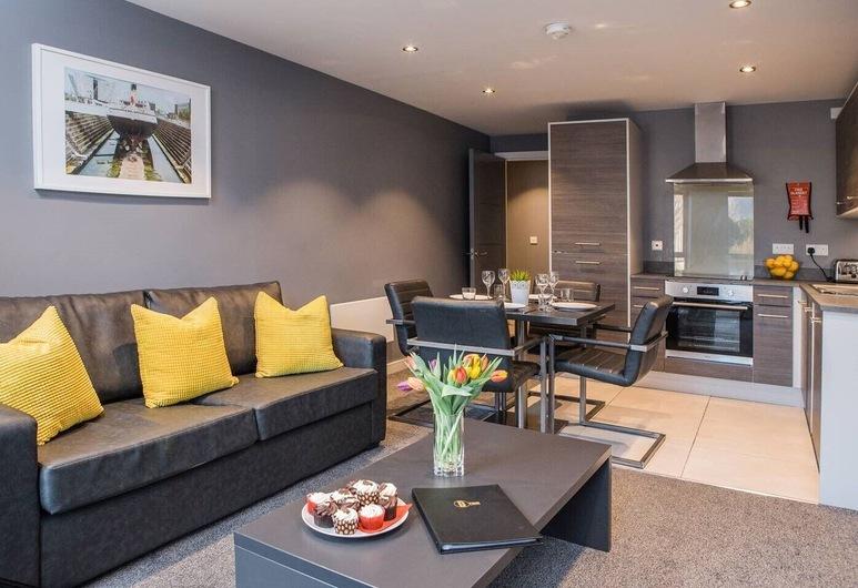 Dream Apartments St Thomas Hall, Belfast, Apartmán, 1 dvojlôžko, Obývacie priestory