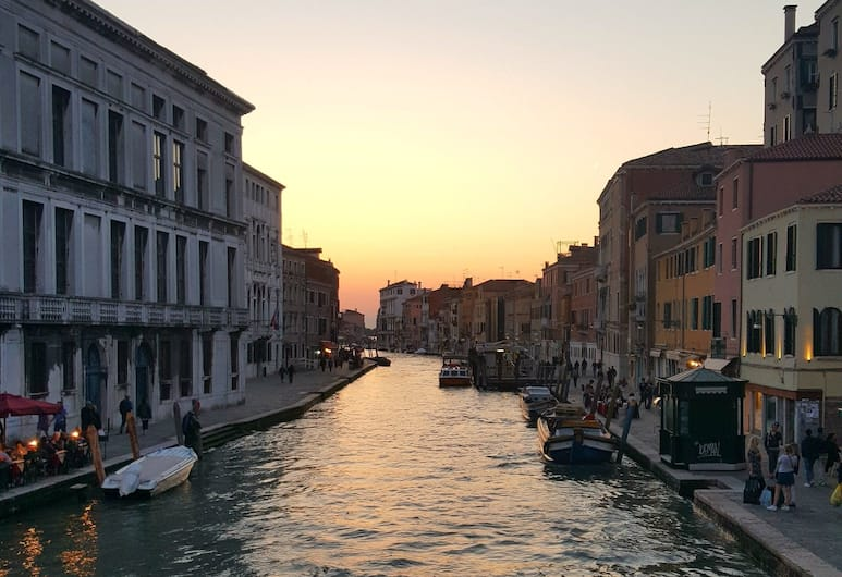 Porta Orientalis Venice, Venedig, Blick vom Hotel