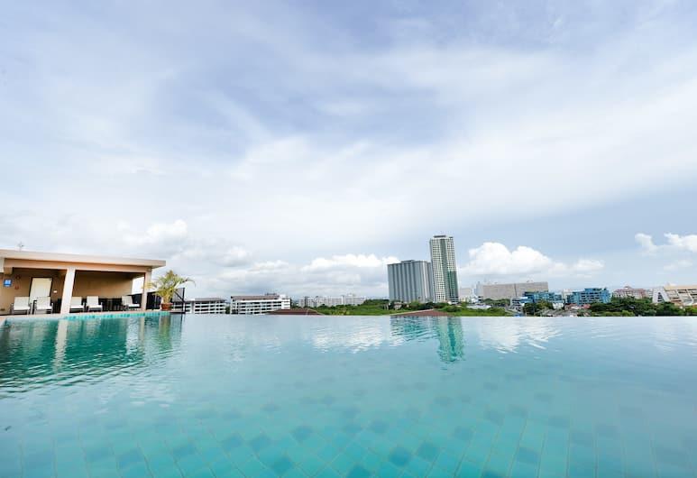 Lawinta Hotel Pattaya, Pattaya, Infinity Pool