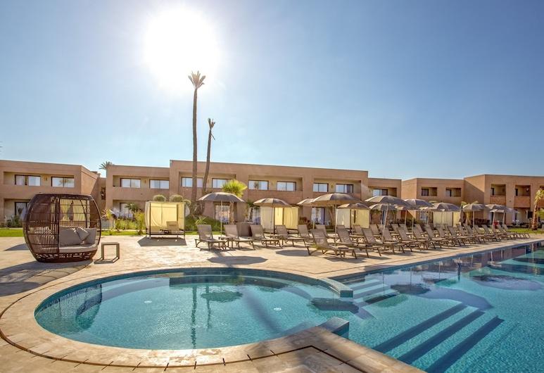 Be Live Collection Marrakech Adults Only - All Inclusive, Marakešas, Pagerinto tipo dvivietis kambarys, vaizdas į baseiną (for 2 persons), Vaizdas iš svečių kambario