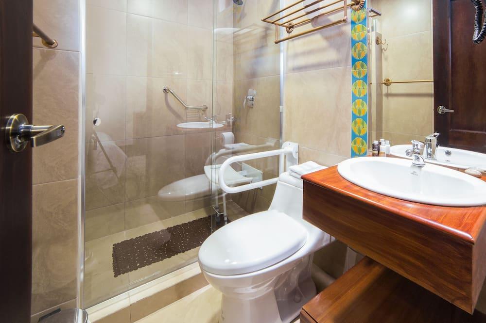 Dobbeltværelse - 1 soveværelse - Badeværelse