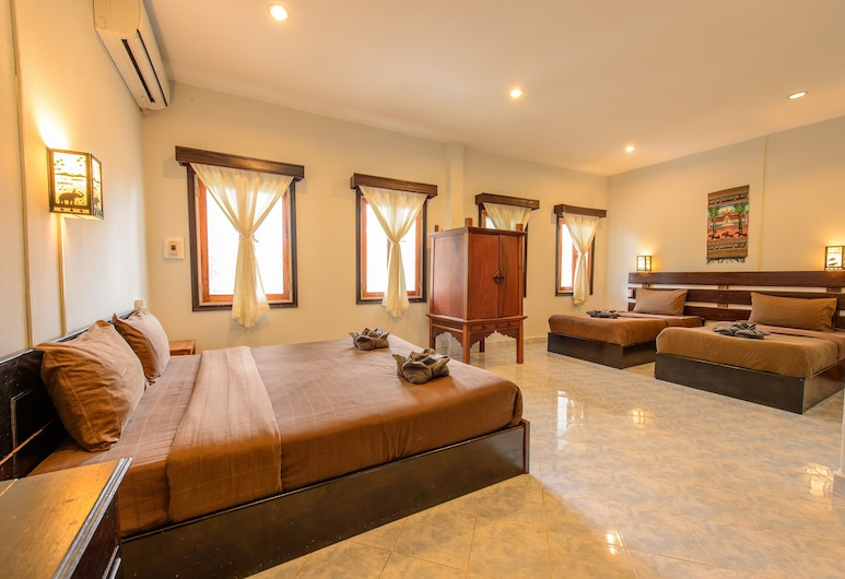 Sabaidee Guesthouse, Luang Prabang, Familienzimmer, Zimmer