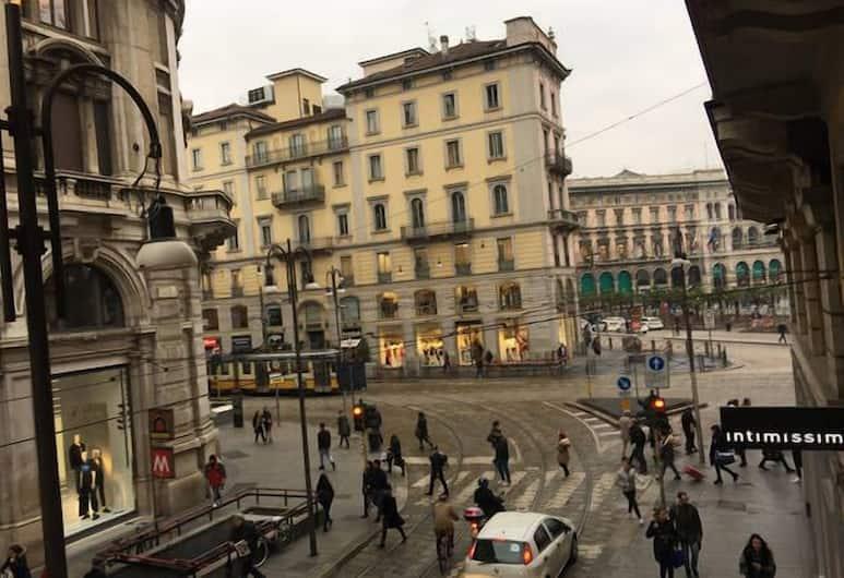 Milano Flat – Mazzini, Milano, Appartamento Deluxe (Piazza Duomo), Vista dalla camera