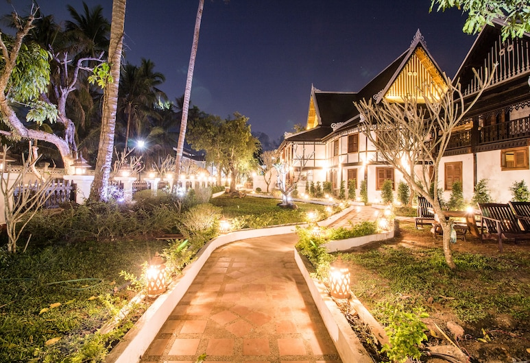 Royal Peacock Boutique Hotel, Λουάνγκ Πραμπάνγκ, Κήπος