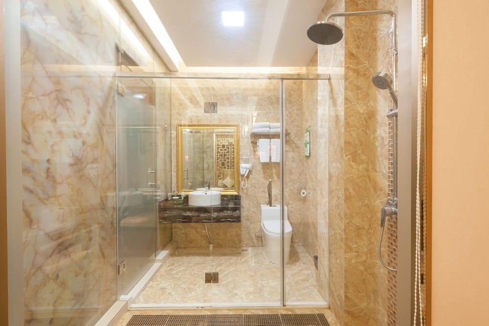 Dvojlôžková izba typu Business, výhľad na mesto - Kúpeľňa