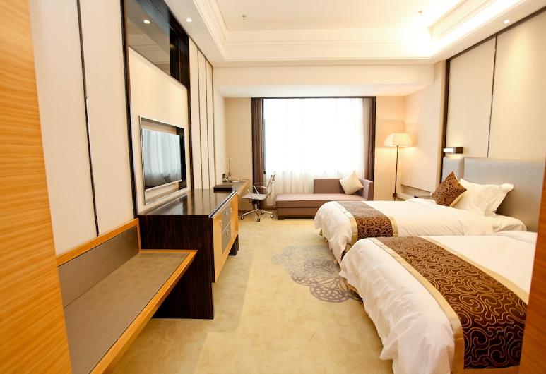 武漢藍天龍韻大飯店, 武漢市, 豪華雙床房, 客房