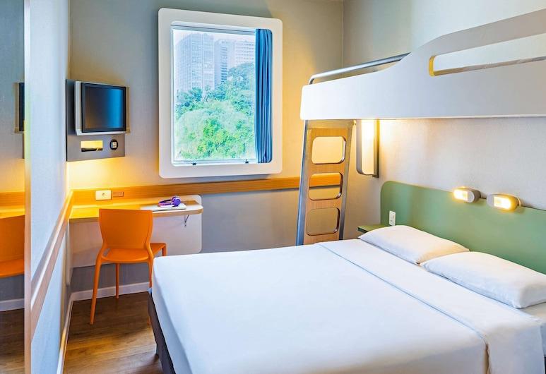 ibis budget Rio de Janeiro Centro, Rio de Janeiro, Standard Double Room, Multiple Beds, Guest Room