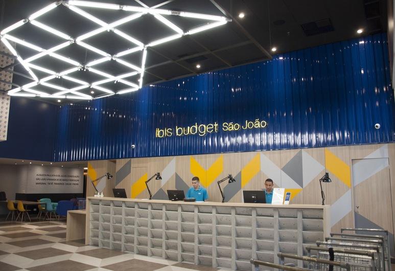 Ibis Budget SP Centro São João, Sao Paulo, Reception