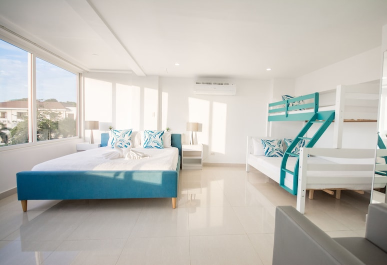 인디라 보라카이, Boracay Island, 펜트하우스, 침실 2개, 주방, 객실