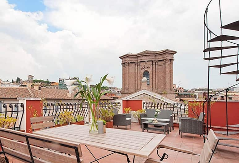 Lappartamento - Spanish Steps Area, Rome, Penthouse, 3 Bedrooms, Terrace/Patio