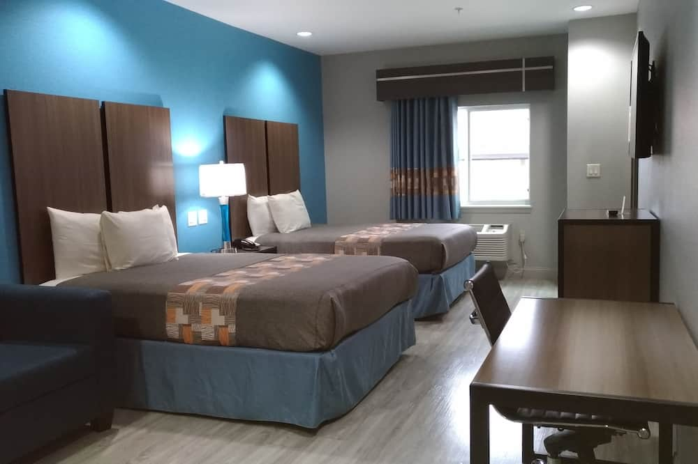 Room, 2 Queen Beds, Accessible, Refrigerator & Microwave - Guest Room