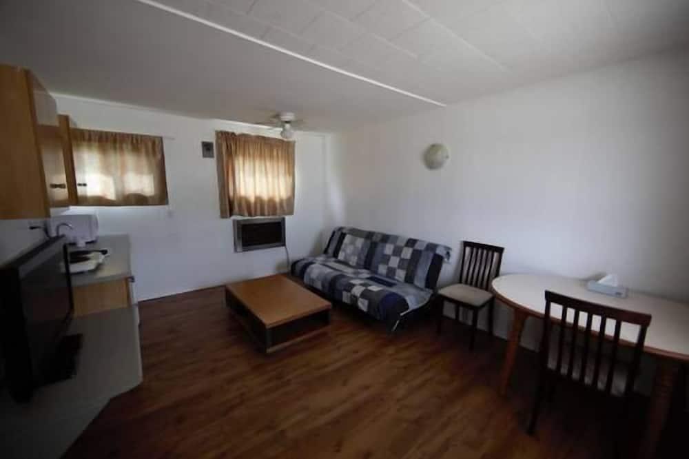 جناح فاخر - غرفة نوم واحدة - غرفة معيشة