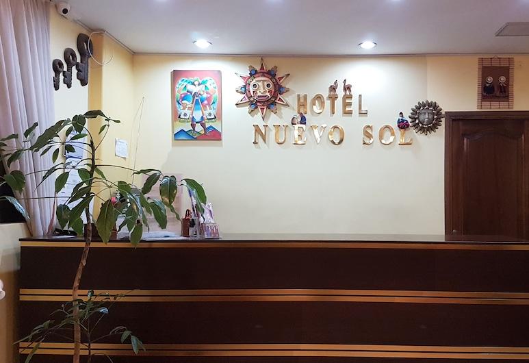 Hotel Nuevo Sol, La Paz, Meja Sambut Tetamu
