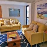行政公寓, 2 間臥室, 城市景, 複式 - 客廳
