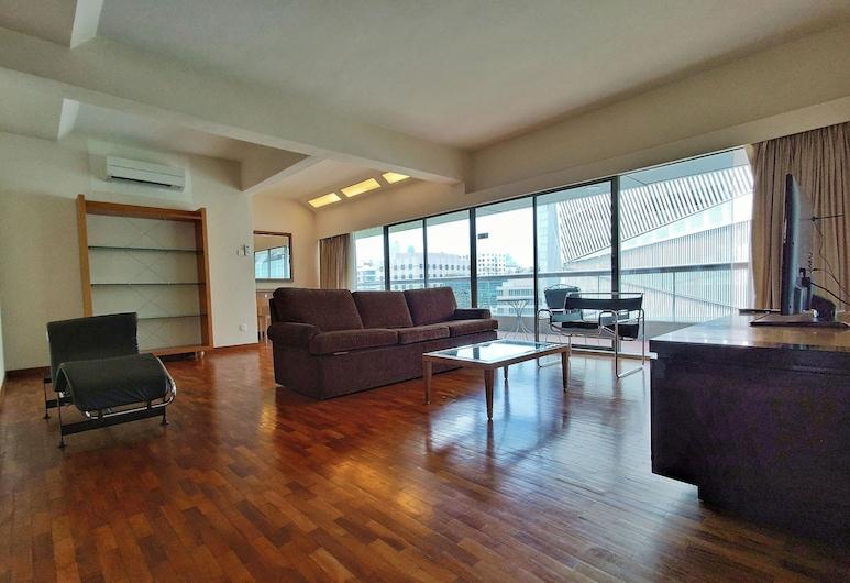 Orchard Point Serviced Apartments, Singapour, Appartement « Premier », 1 chambre, Balcon